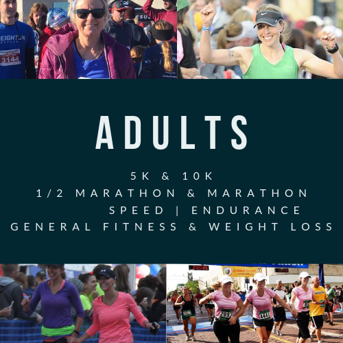 RUN COACHING FOR ADULTS - LEWIS CENTER